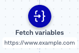 Fetch variables